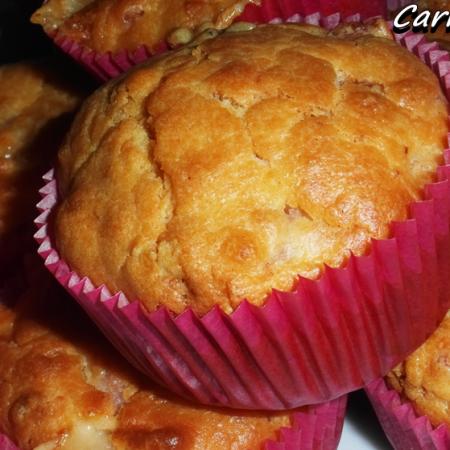 muffin salati con provolone