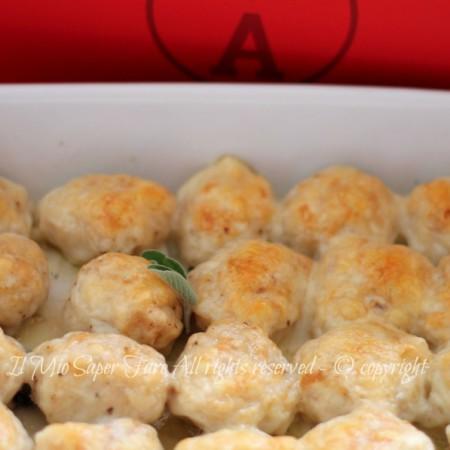 gnocchi di pane filanti al provolone