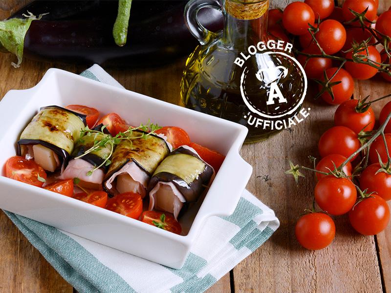 Secondi piatti veloci involtini di melanzana ricetta for Secondi piatti veloci