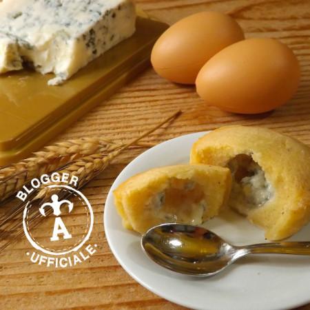 antipasti al gorgonzola tortini al parmigiano