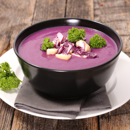 red cabbage soup